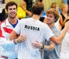 Рублев, Хачанов и Медведев сыграют вечером