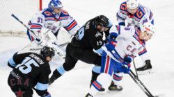 СКА сыграет с «Динамо» Минск в пятом матче серии плей-офф Кубка Гагарина