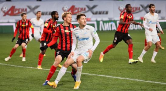 «Зенит» примет «Химки» на «Газпром Арене» в матче РПЛ
