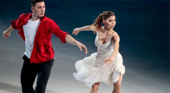Петербуржцы Мишина и Галлямов выиграли короткую программу на командном чемпионате мира