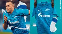«Зенит» представил новую форму на сезон 2021/22